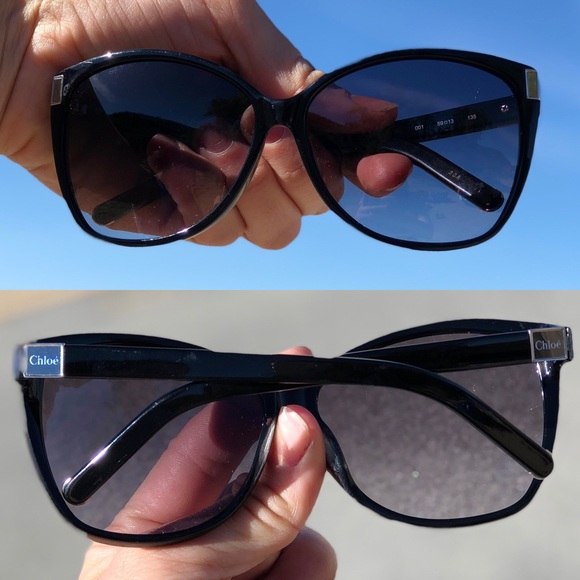 61cf2be8eae CHLOE OVERSIZED CUTE SUNGLASSES SHADES ALMOST NEW